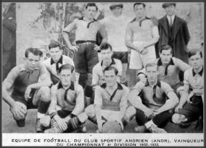 Anor l'équipe de 1932-1933