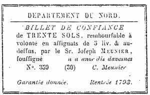assignat de 1793