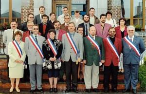 Conseil municipal de 1989